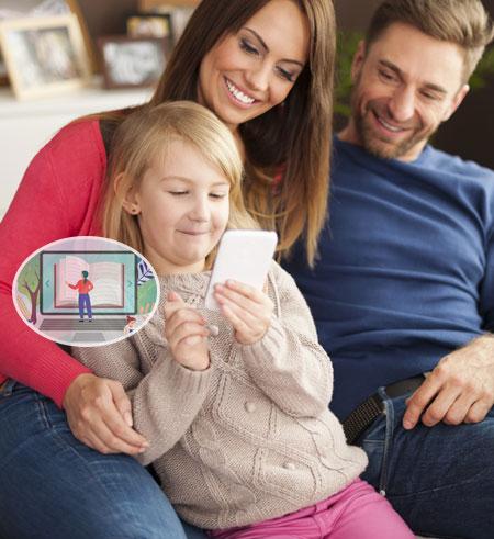 TheWiSpy Parental Control App home header