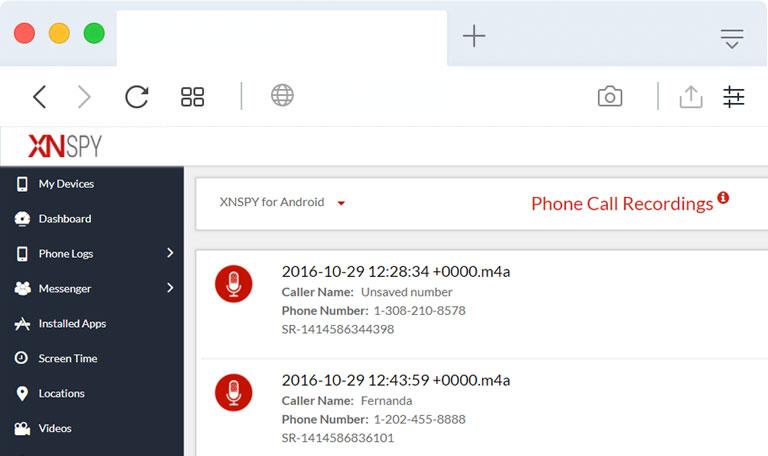 Best Phone Call Recording Spy Apps-xnspy