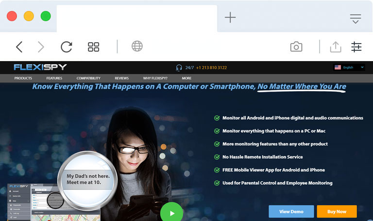 What-is-FlexiSpy phone monitoring spyware