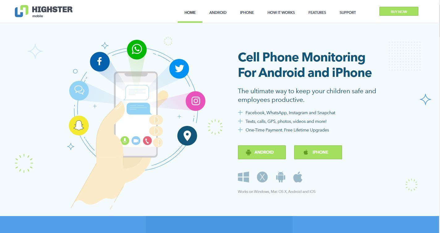 Highster Mobile spyware program
