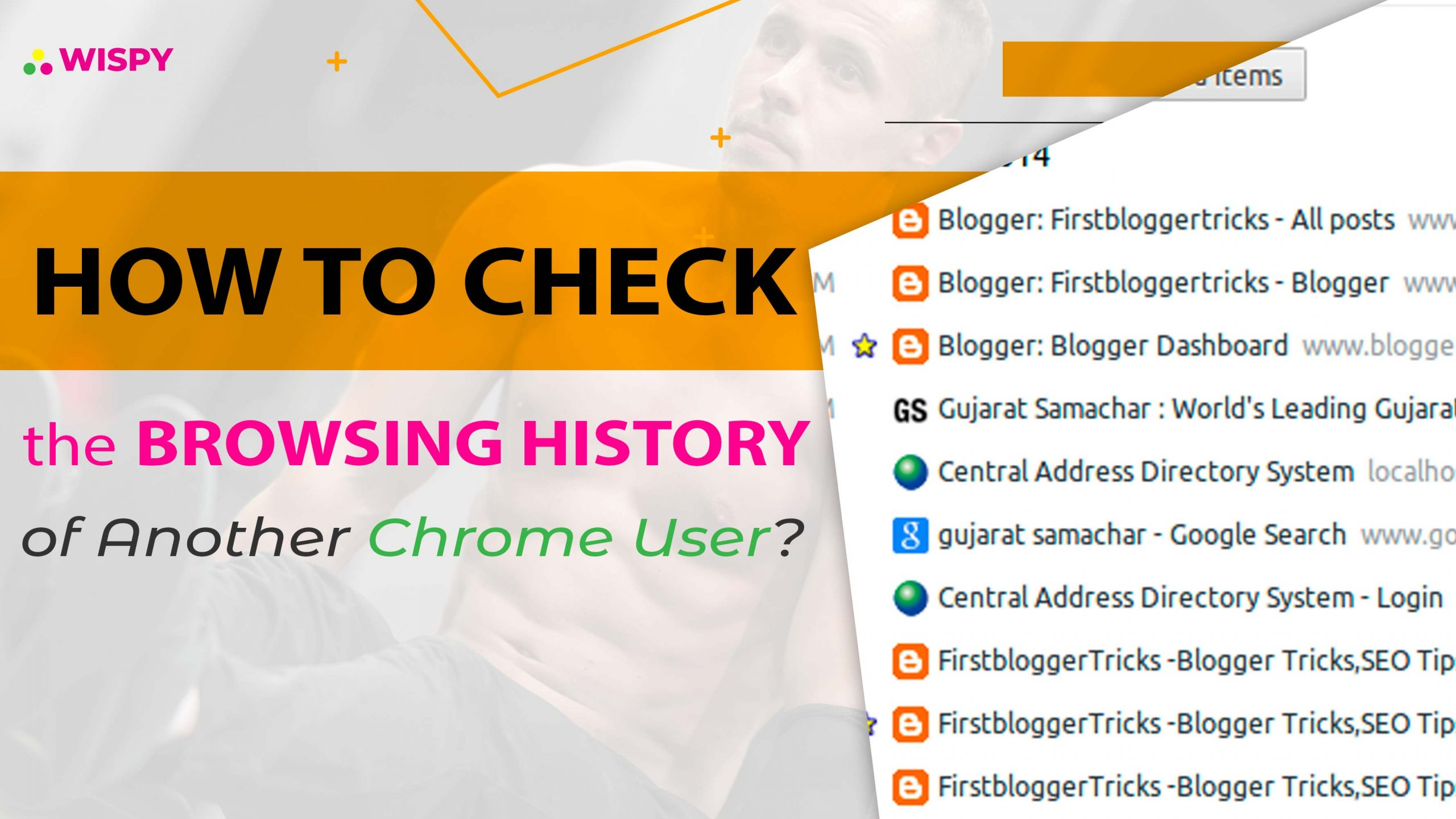 How to Check the Browsing History of Another Chrome User?