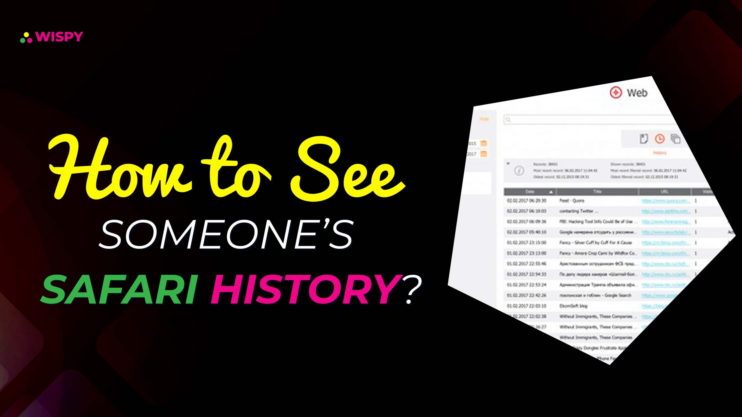 How to See Someone's Safari History?