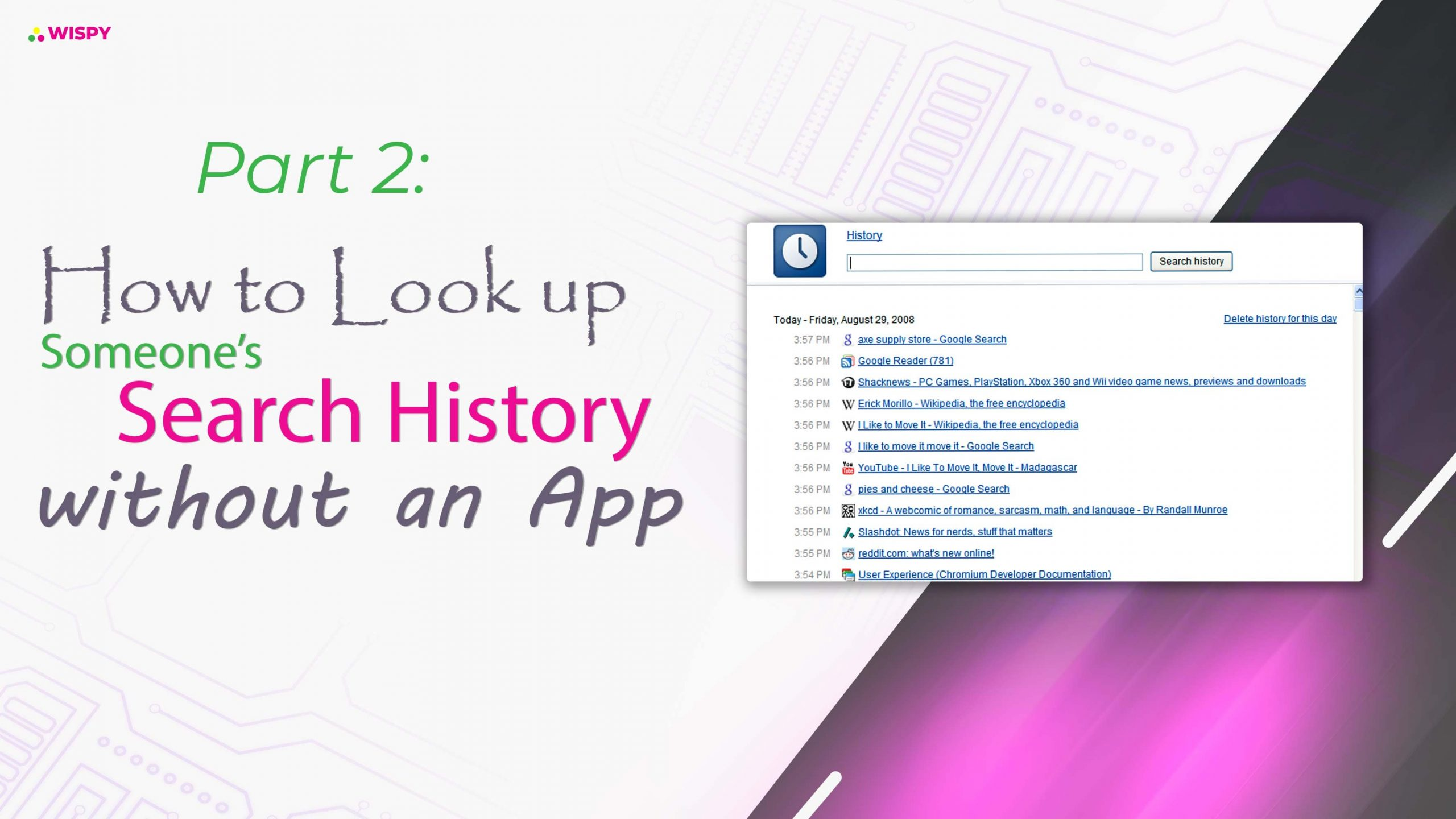 Part 2: How to Look Up Someone's Search History without an App?
