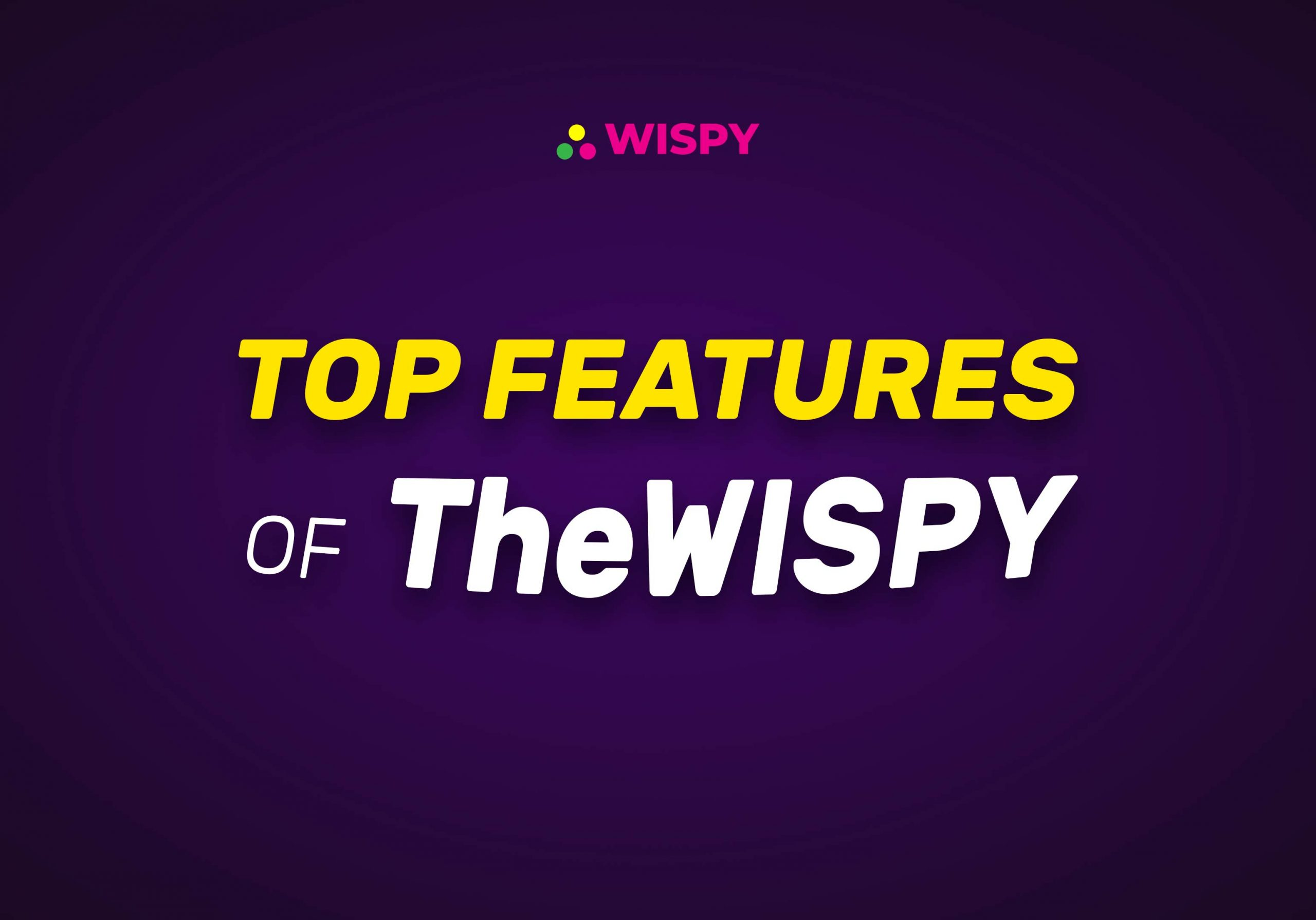 Top Features of TheWiSpy